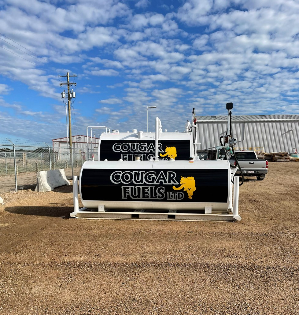 cougar fuels - new sign at all brite