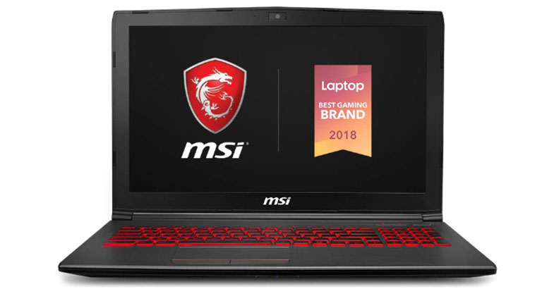 MSI GV62 8RD - Best Laptops For Fusion 360
