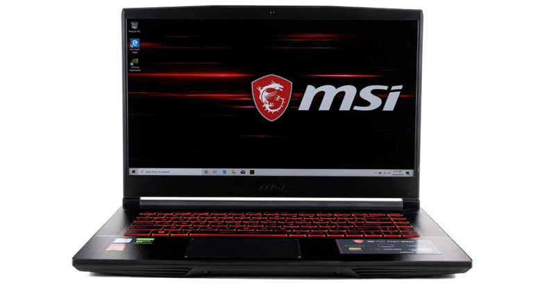CUK MSI GF65 - Best Gaming Laptops Under 1500 Dollars
