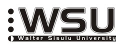 Walter Sisulu University, South Africa