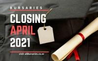 Bursaries Closing in April 2021