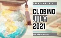 Bursaries Closing in July 2021