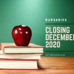 Bursaries Closing in December 2020