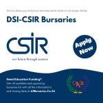 DSI-CSIR Bursaries