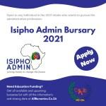Isipho Admin Bursary