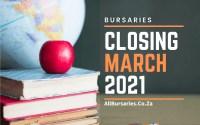Bursaries Closing in March 2021