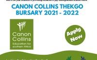 Canon Collins Thekgo Bursary 2021