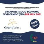 GrandWest Socio-Economic Development (SED) Bursary