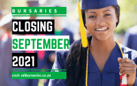 Bursaries Closing in September 2021