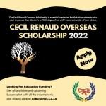 Cecil Renaud Overseas Scholarship