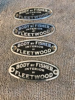 body by fisher interior fleetwood