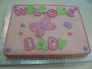 safeway baby shower cake