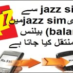 how to share jazz balance