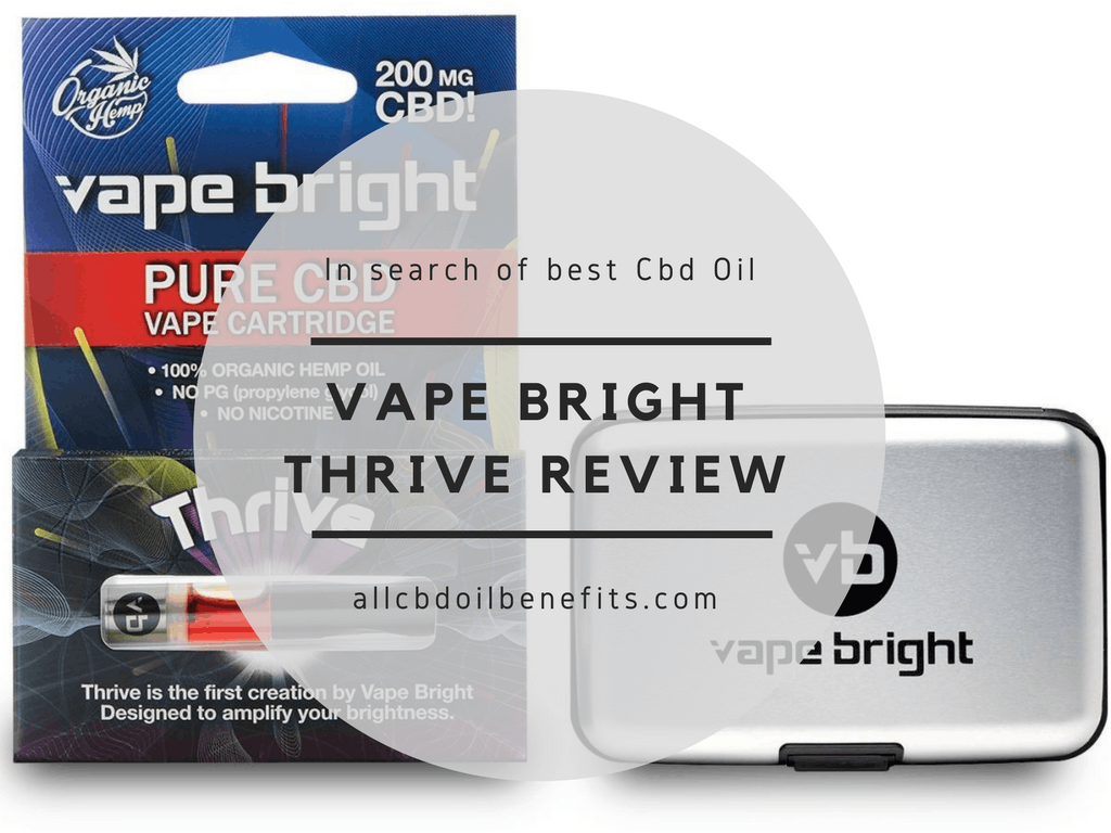 here's a detailed vape bright thrive review. Tells about the compna