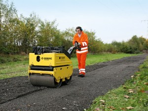 All Choice Rentals adds Bomag BW 65 H  Walk Behind Double Drum Vibratory Roller to the fleet