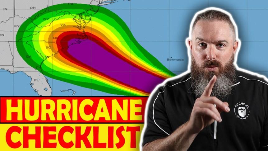The Ultimate Hurricane Checklist - ALLCHOICE Insurance