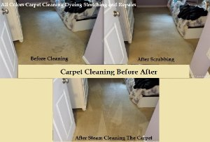 cleaning before after