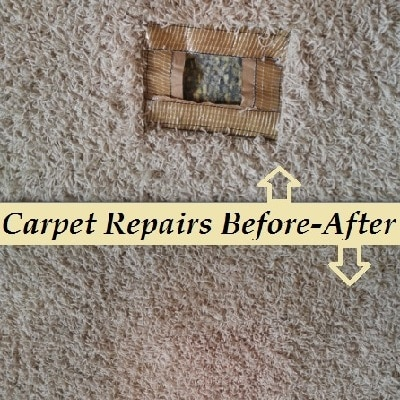 carpet patch before after