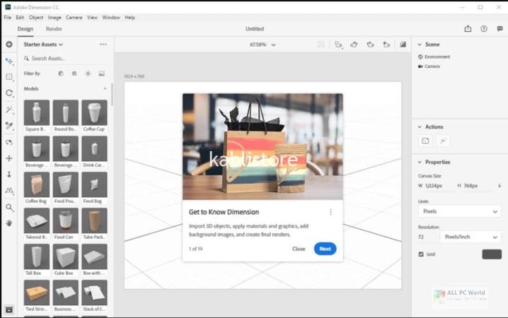 Adobe-Dimension-CC-2020-v3.4-Download