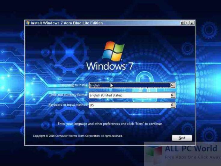 Windows-7-Aero-Blue-Lite-Edition-2016-Review