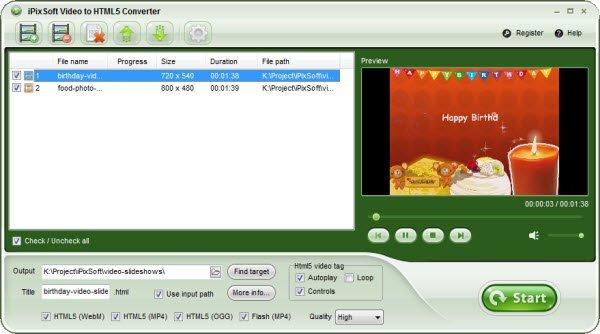 iPixSoft-Video-to-HTML5-Converter-Serial-Key