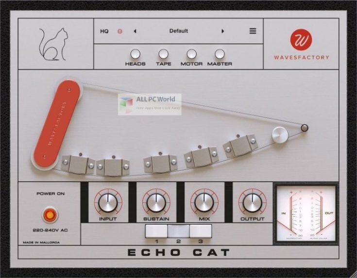 Wavesfactory-Echo-Cat-Free-Download