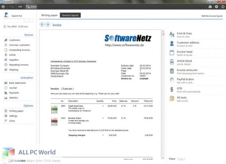 Softwarenetz-Invoice-Free-Download