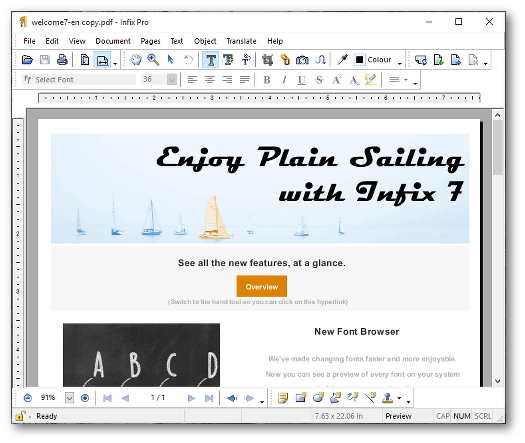 Infix PDF Editor Pro 7 Full Version Download