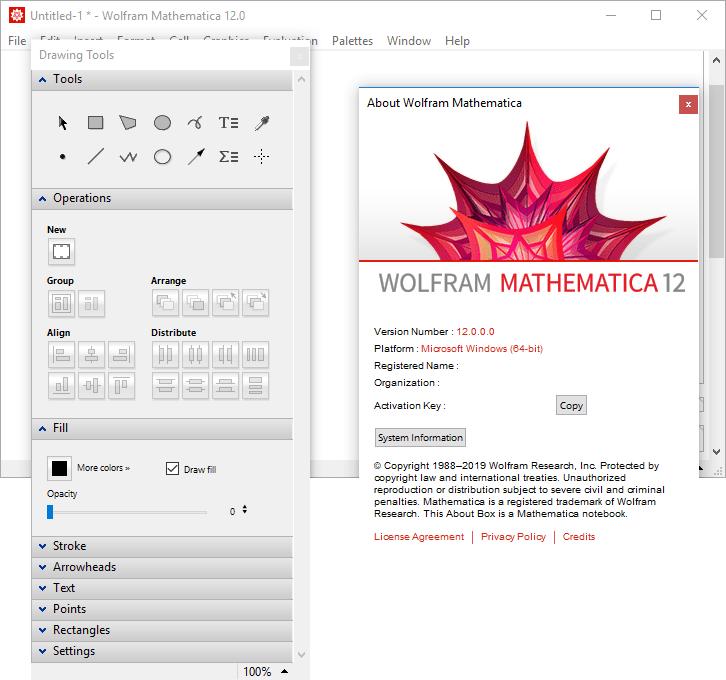 Wolfram Mathematica 12.0