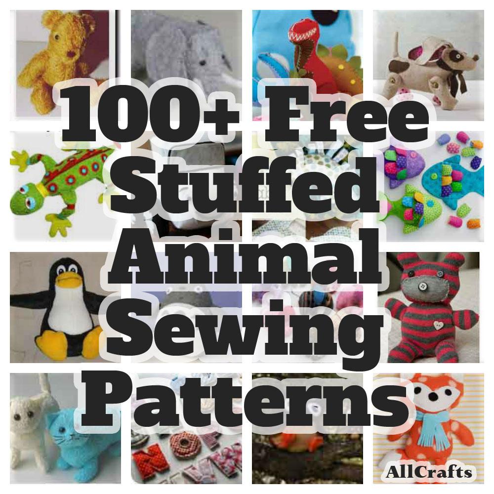 Knitting Pattern Stuffed Dog