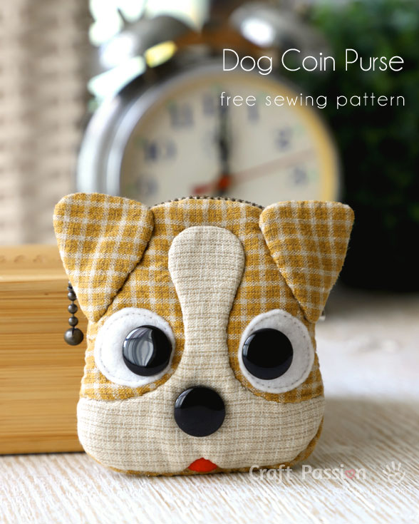 Jack Russell Coin Purse Sewing Pattern AllCrafts Free