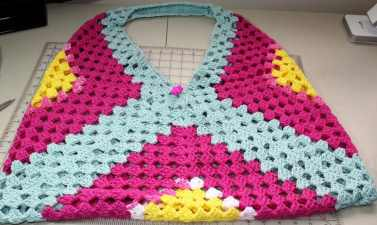 Photo of Crochet Bag made with Granny Squares