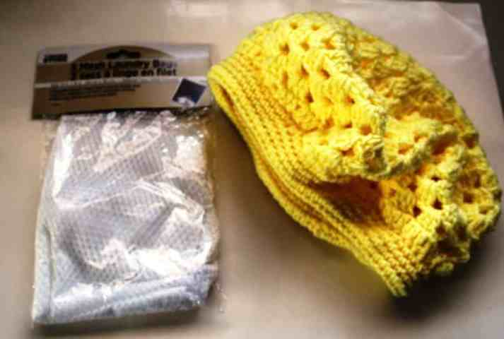 Protect your crochet items while washing