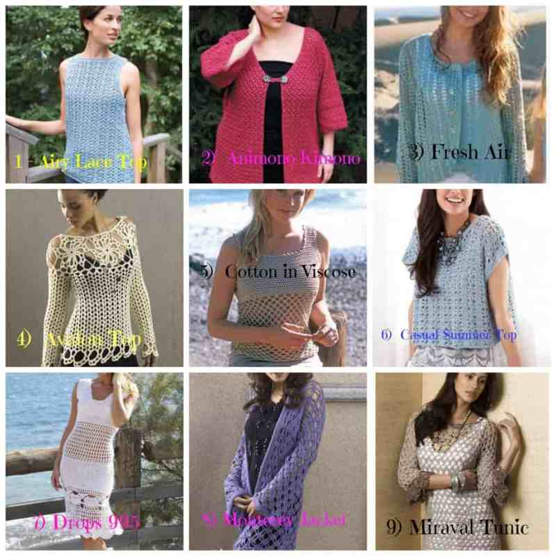 Photo Plus Size Crochet Garments