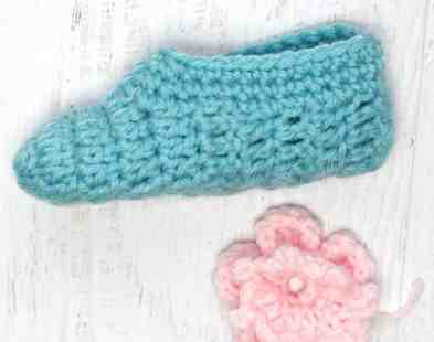 Photo Crochet Easiest Slippets