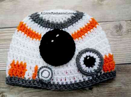 Robot Crochet hat