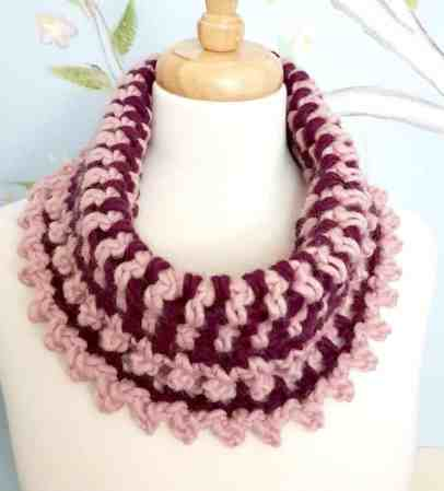 Chunky Yarn Crochet Cowl Its Super Fun And Easy All Crafts Channel