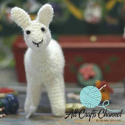 Crochet Amigurumi Llama by Yolanda Soto-Lopez