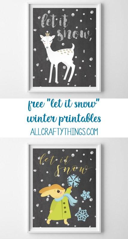 winter printable art