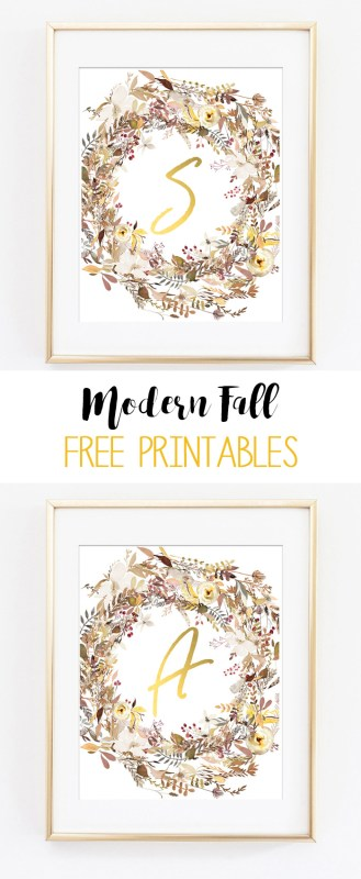 fall printable art 1