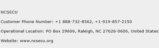 Secu Credit Union Phone Number