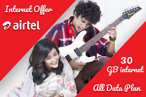Airtel 30 GB Internet Offer