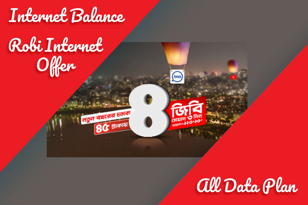 Robi Intnernet Package offer