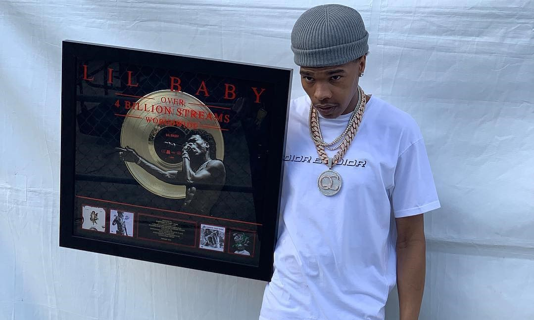 LIL BABY GETS HONORED FOR BEING THE HOTTEST RAPPER