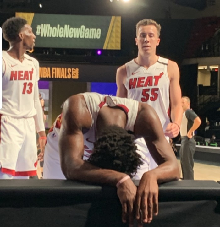 JIMMY BUTLER AND THE HEAT LIVE TO BALL ANOTHER DAY