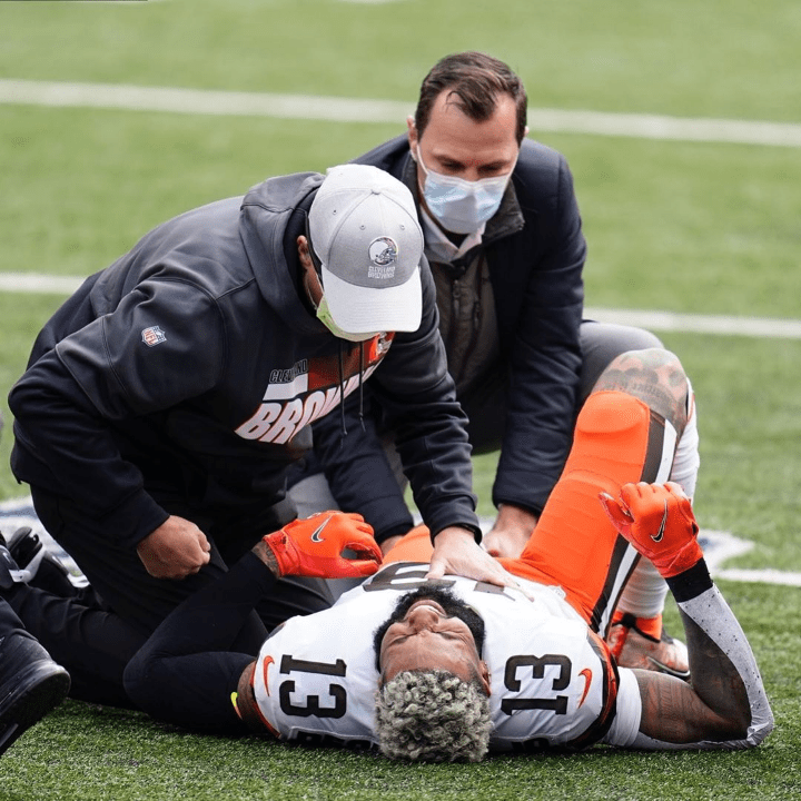 """ODELL BECKHAM'S TORN ACL – """"HIS SEASON IS OVER"""""""