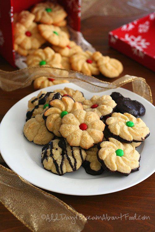 Keto Spritz Cookies