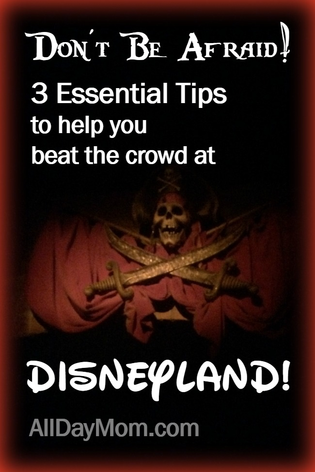 Get my 3 essential Disneyland tips to help you beat the crowd and ride more rides at the Disneyland Resort! Is it packed? Planning a Disneyland vacation?