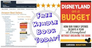 Disneyland on a Budget is #1 Kindle Top 100 Free Book in Finance and Tourist Destinations!