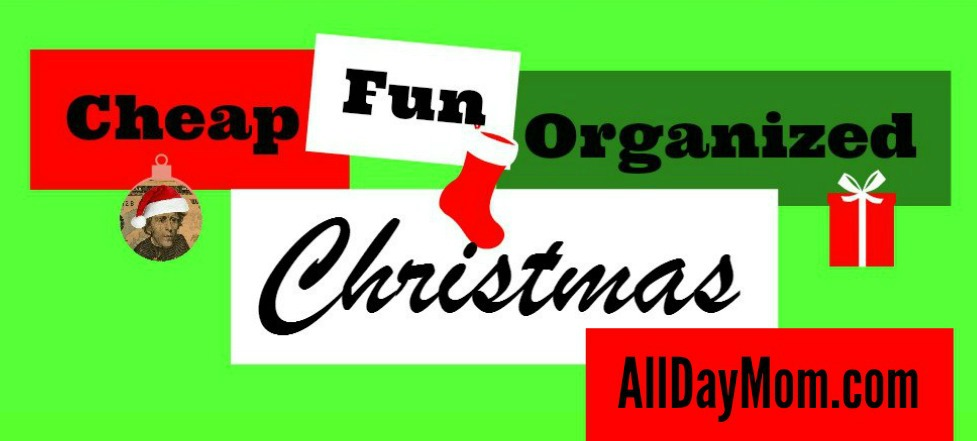Cheap, Fun, Organized Christmas! Get a free printable Christmas budget planner at All Day Mom! alldaymom.com/christmas-organized